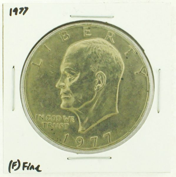 1977 Eisenhower Dollar RATING: (F) Fine (N2-4249-05)