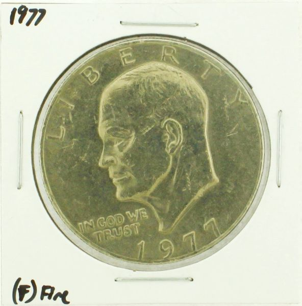 1977 Eisenhower Dollar RATING: (F) Fine (N2-4249-06)
