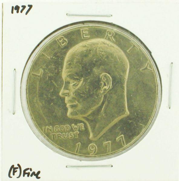 1977 Eisenhower Dollar RATING: (F) Fine (N2-4249-08)