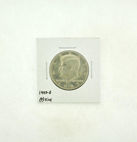 1983-D Kennedy Half Dollar (F) Fine N2-3755-2