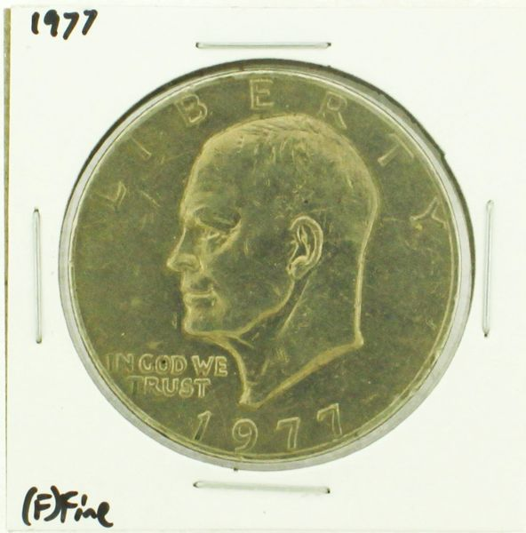 1977 Eisenhower Dollar RATING: (F) Fine (N2-4249-10)