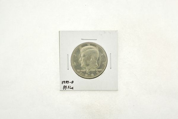 1983-D Kennedy Half Dollar (F) Fine N2-3755-5