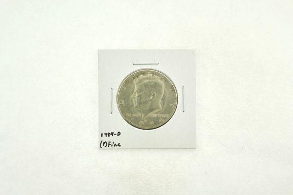 1984-D Kennedy Half Dollar (F) Fine N2-3769-1