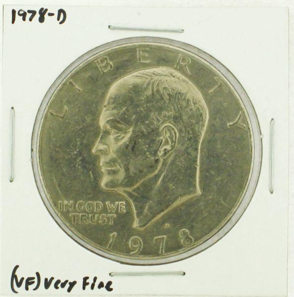 1978-D Eisenhower Dollar RATING: (VF) Very Fine (N2-4263-01)