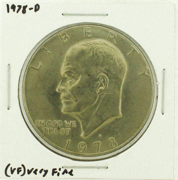 1978-D Eisenhower Dollar RATING: (VF) Very Fine (N2-4263-02)