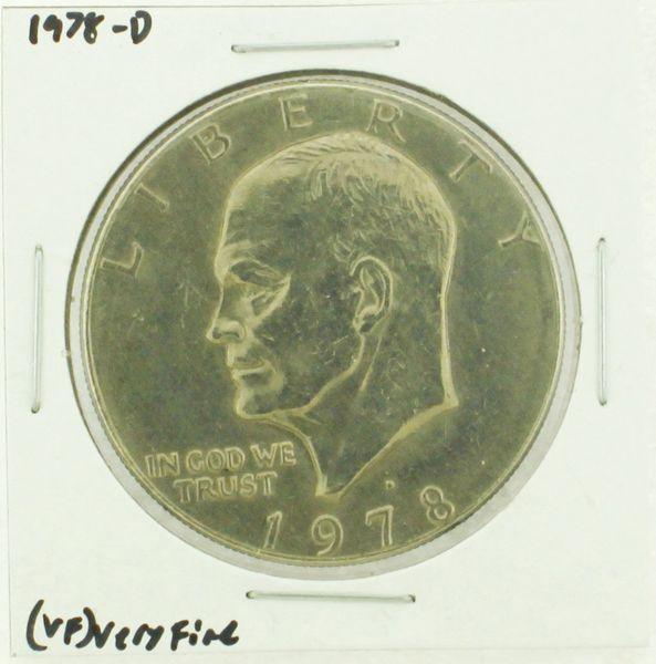 1978-D Eisenhower Dollar RATING: (VF) Very Fine (N2-4263-03)