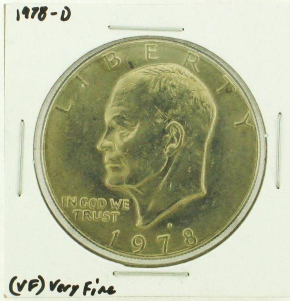 1978-D Eisenhower Dollar RATING: (VF) Very Fine (N2-4263-05)
