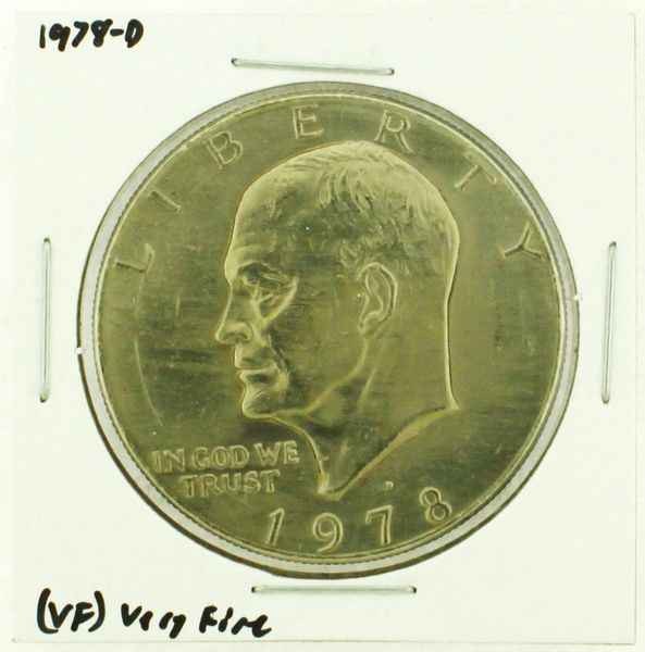 1978-D Eisenhower Dollar RATING: (VF) Very Fine (N2-4263-06)