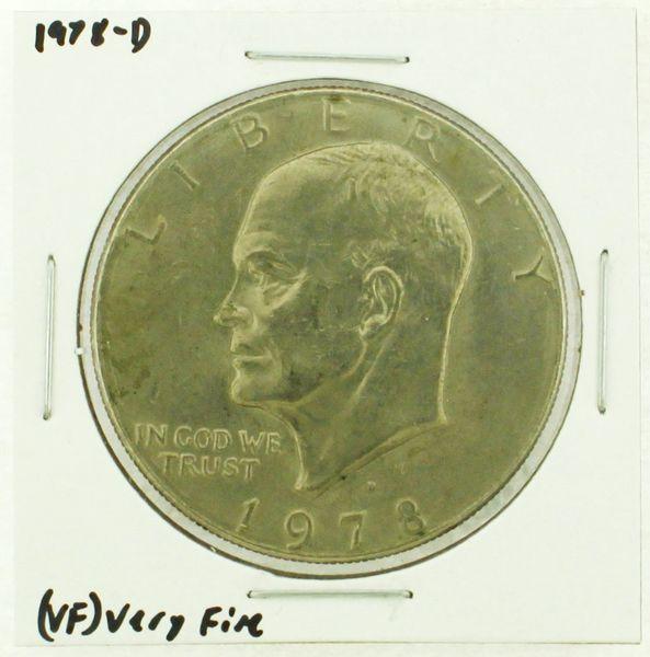 1978-D Eisenhower Dollar RATING: (VF) Very Fine (N2-4263-07)