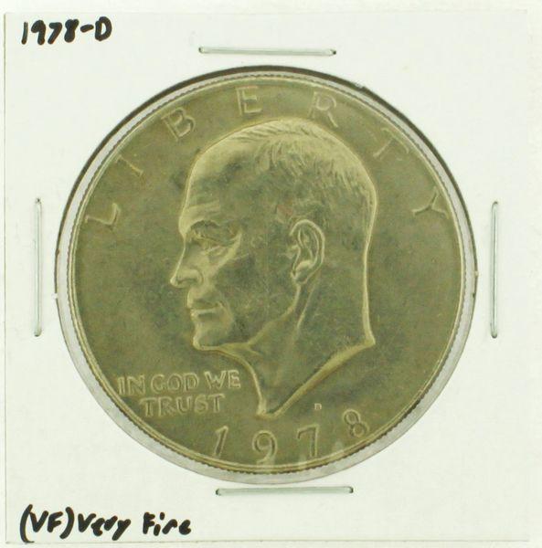 1978-D Eisenhower Dollar RATING: (VF) Very Fine (N2-4263-09)