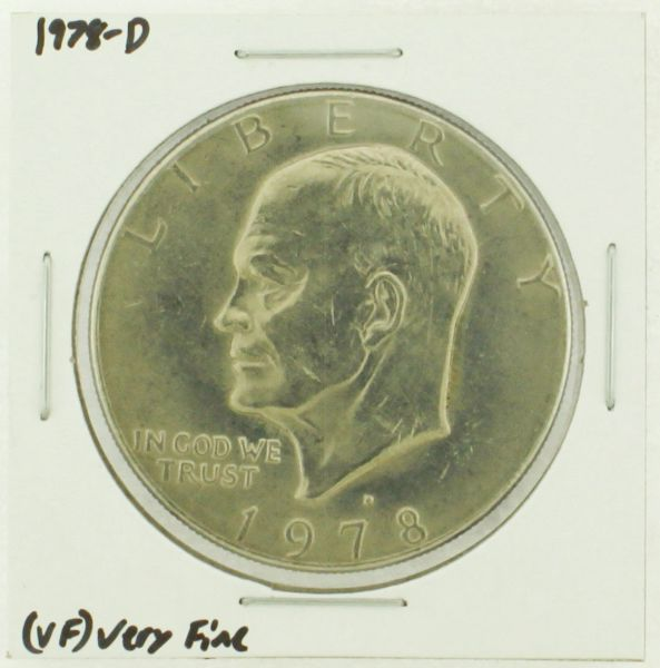 1978-D Eisenhower Dollar RATING: (VF) Very Fine (N2-4263-10)
