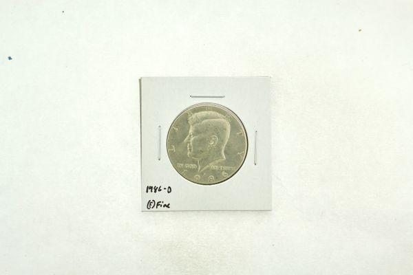 1986-D Kennedy Half Dollar (F) Fine N2-3814-1