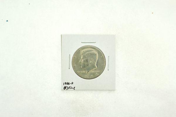 1986-D Kennedy Half Dollar (F) Fine N2-3814-2