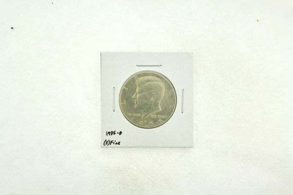 1986-D Kennedy Half Dollar (F) Fine N2-3814-3