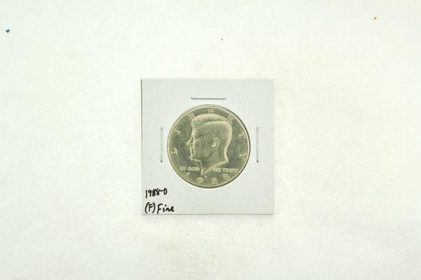 1988-D Kennedy Half Dollar (F) Fine N2-3817-2