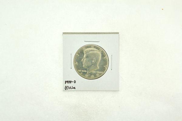 1988-D Kennedy Half Dollar (F) Fine N2-3817-4