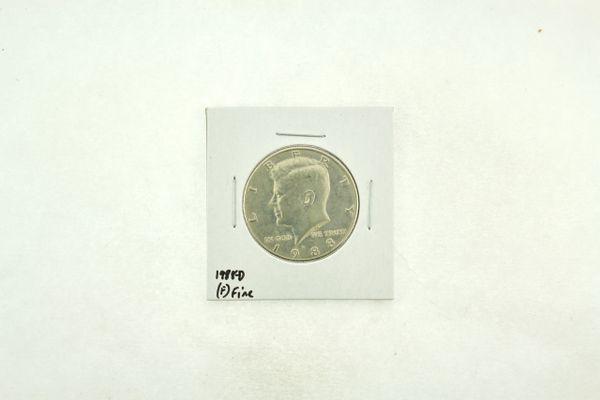 1988-D Kennedy Half Dollar (F) Fine N2-3817-6