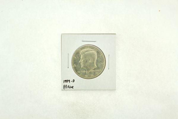 1989-D Kennedy Half Dollar (F) Fine N2-3824-2