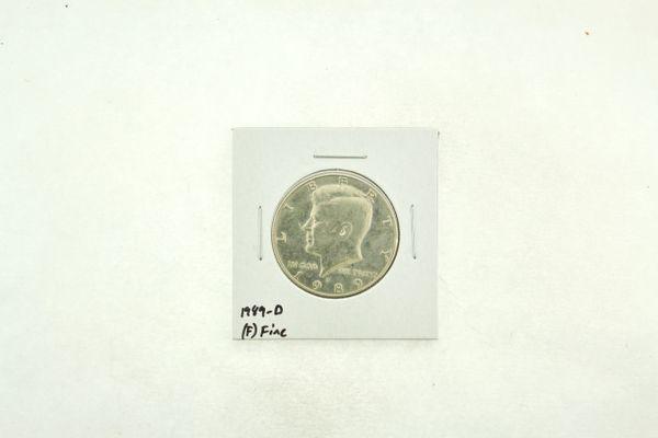 1989-D Kennedy Half Dollar (F) Fine N2-3824-3