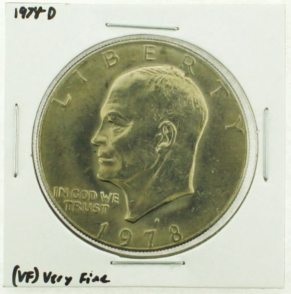 1978-D Eisenhower Dollar RATING: (VF) Very Fine (N2-4263-13)