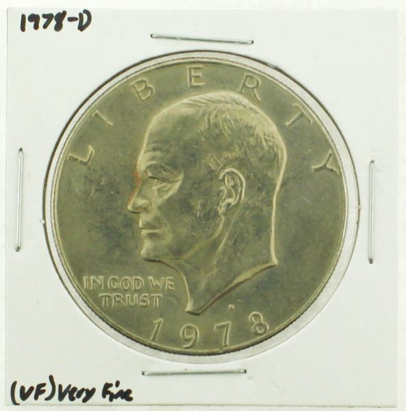1978-D Eisenhower Dollar RATING: (VF) Very Fine (N2-4263-14)