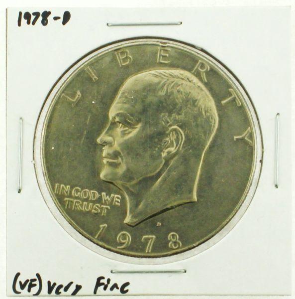 1978-D Eisenhower Dollar RATING: (VF) Very Fine (N2-4263-15)