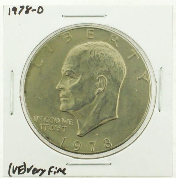1978-D Eisenhower Dollar RATING: (VF) Very Fine (N2-4263-16)