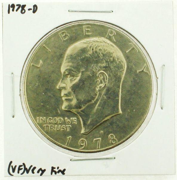 1978-D Eisenhower Dollar RATING: (VF) Very Fine (N2-4263-17)