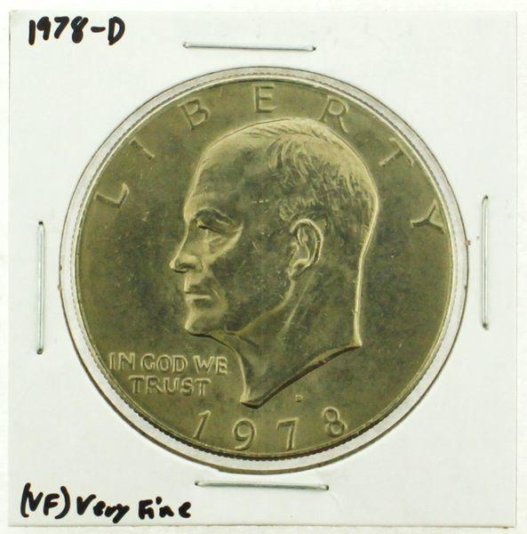1978-D Eisenhower Dollar RATING: (VF) Very Fine (N2-4263-18)