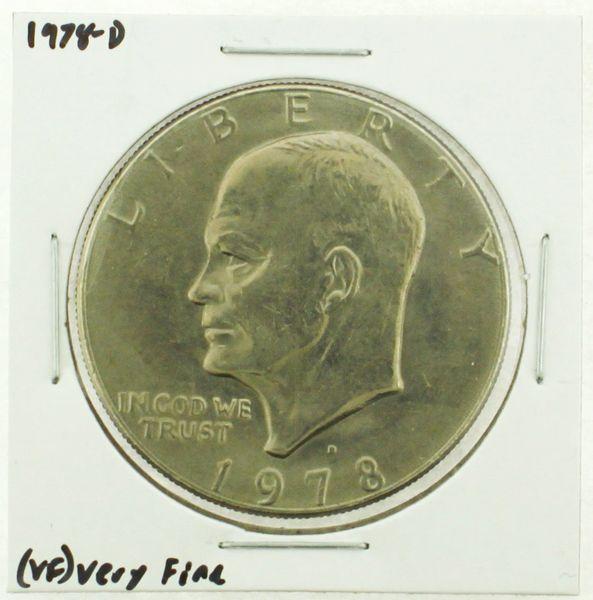 1978-D Eisenhower Dollar RATING: (VF) Very Fine (N2-4263-21)
