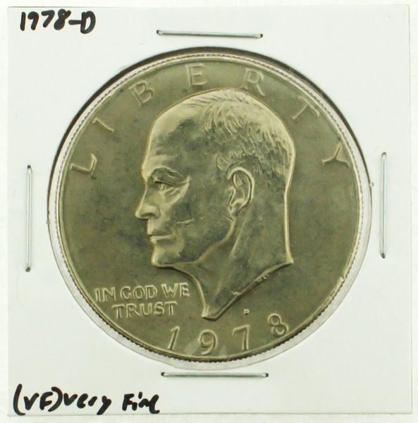 1978-D Eisenhower Dollar RATING: (VF) Very Fine (N2-4263-24)