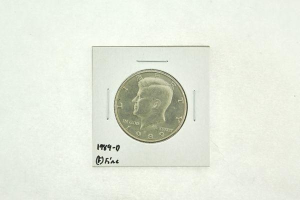 1989-D Kennedy Half Dollar (F) Fine N2-3824-6