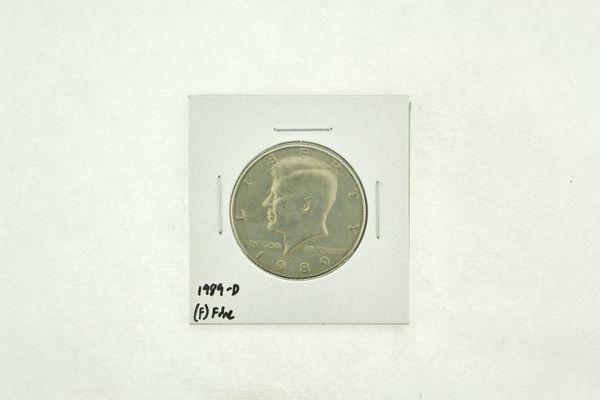 1989-D Kennedy Half Dollar (F) Fine N2-3824-7