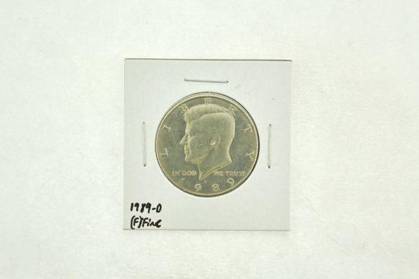 1989-D Kennedy Half Dollar (F) Fine N2-3824-8
