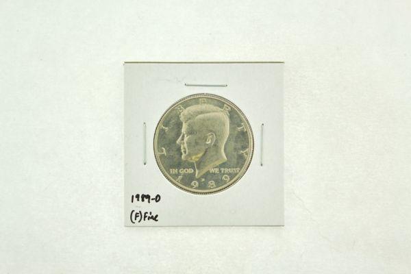 1989-D Kennedy Half Dollar (F) Fine N2-3824-9