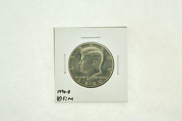 1990-D Kennedy Half Dollar (F) Fine N2-3833-4