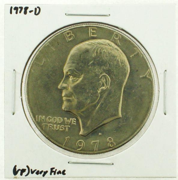 1978-D Eisenhower Dollar RATING: (VF) Very Fine (N2-4263-25)