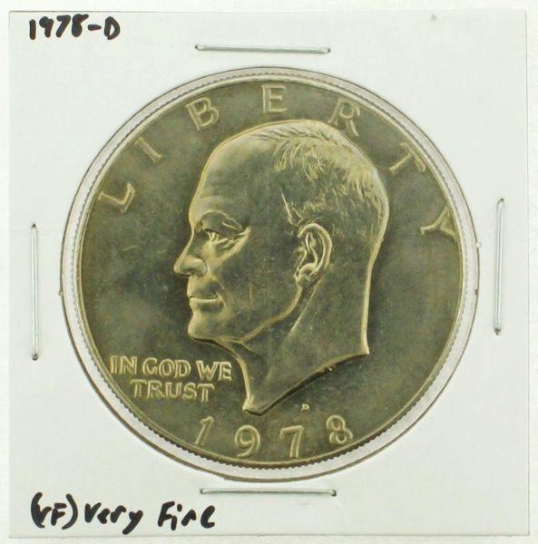 1978-D Eisenhower Dollar RATING: (VF) Very Fine (N2-4263-26)