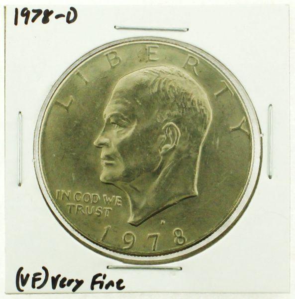 1978-D Eisenhower Dollar RATING: (VF) Very Fine (N2-4263-27)