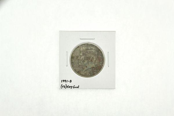 1991-D Kennedy Half Dollar (VG) Very Good N2-3846-2