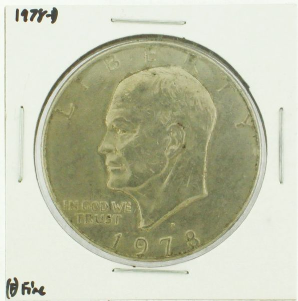 1978-D Eisenhower Dollar RATING: (F) Fine (N2-4297-02)
