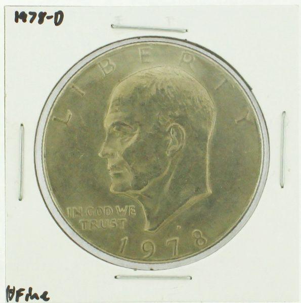 1978-D Eisenhower Dollar RATING: (F) Fine (N2-4297-03)