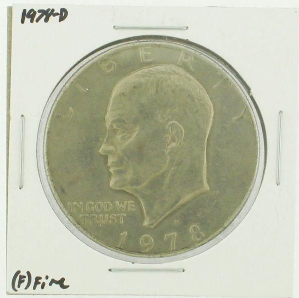 1978-D Eisenhower Dollar RATING: (F) Fine (N2-4297-04)