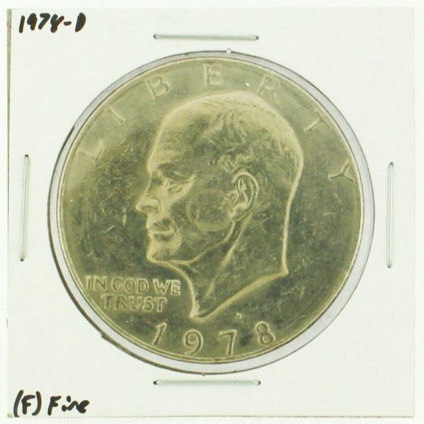 1978-D Eisenhower Dollar RATING: (F) Fine (N2-4297-06)