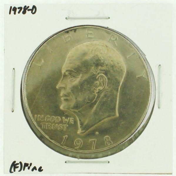 1978-D Eisenhower Dollar RATING: (F) Fine (N2-4297-09)