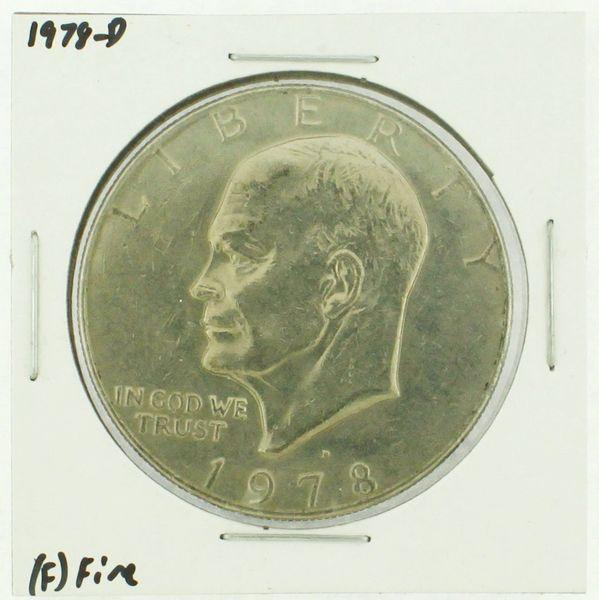 1978-D Eisenhower Dollar RATING: (F) Fine (N2-4297-10)