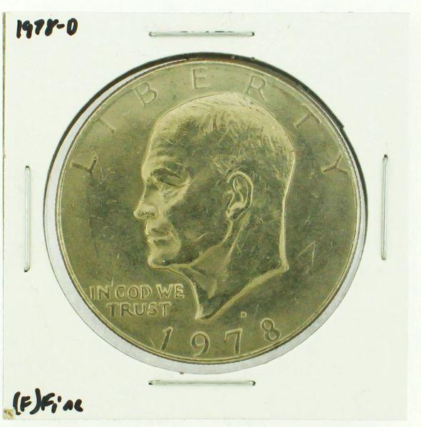 1978-D Eisenhower Dollar RATING: (F) Fine (N2-4297-11)