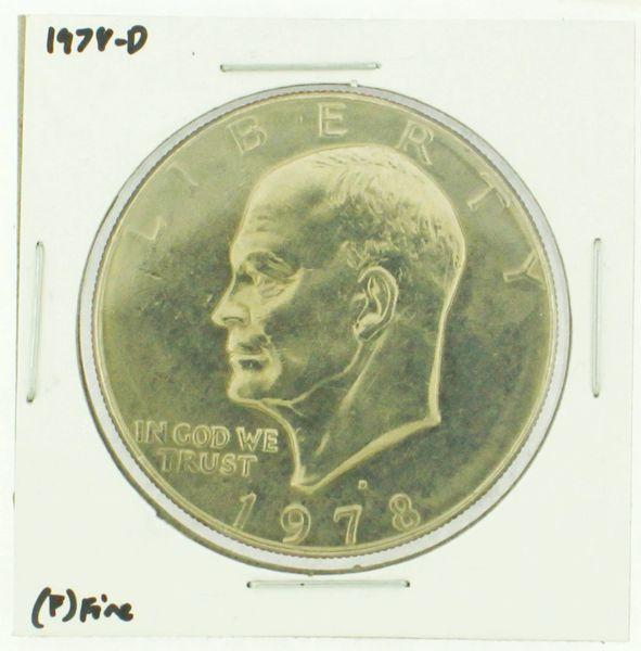 1978-D Eisenhower Dollar RATING: (F) Fine (N2-4297-13)