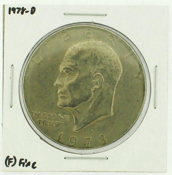 1978-D Eisenhower Dollar RATING: (F) Fine (N2-4297-14)