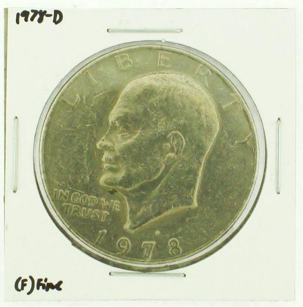1978-D Eisenhower Dollar RATING: (F) Fine (N2-4297-15)